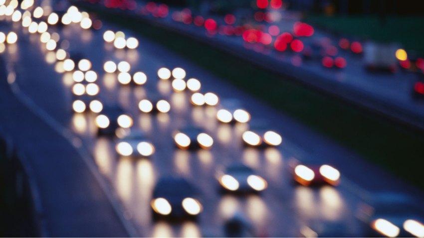 Cars Highway Headlights
