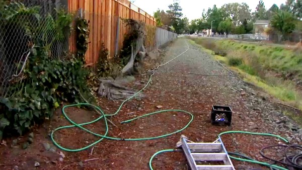 San Jose Couple Discovers Elaborate Hose System Thieves Set Up to Steal Water
