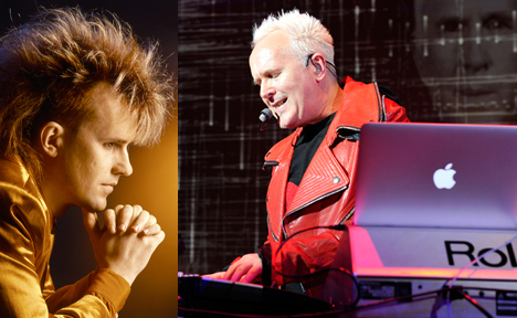 Howard Jones 1985 and 2012