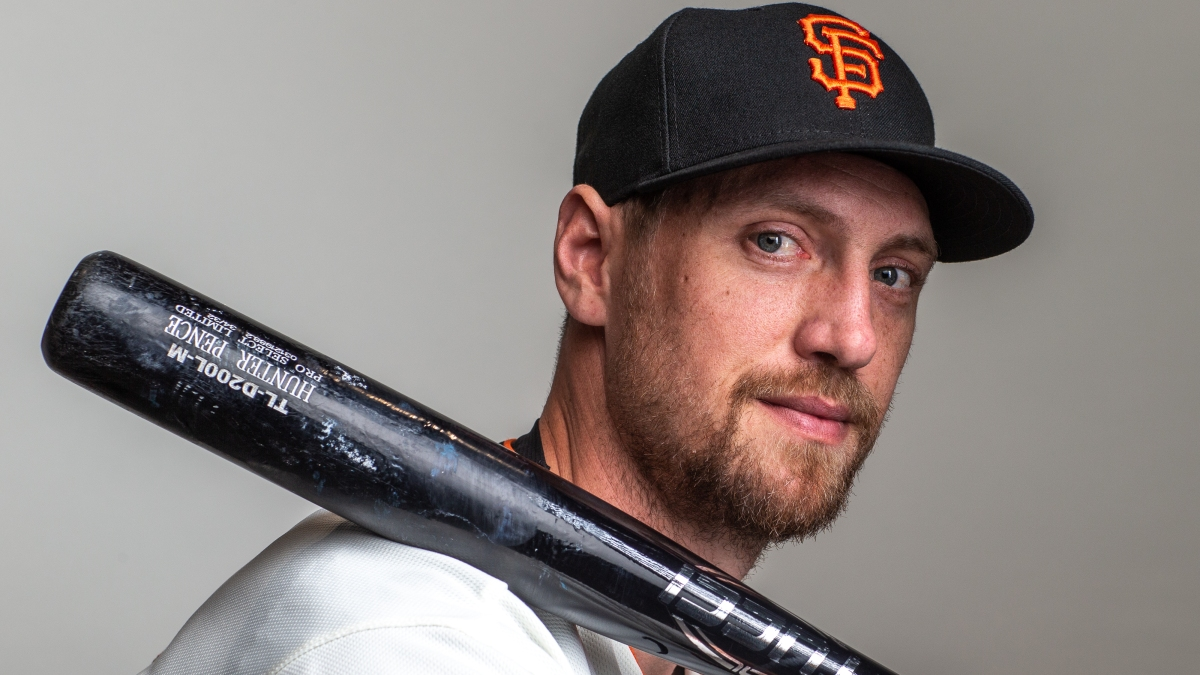 Hunter Pence Thrilled to Be Back With Giants After Year Away