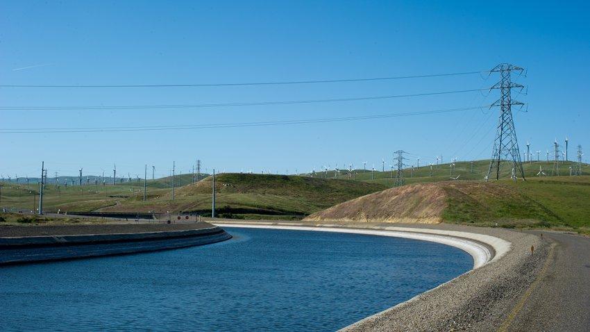 California Aqueduct in Alameda County