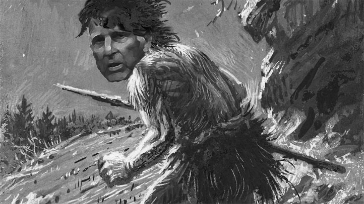 Jerry Brown Caveman