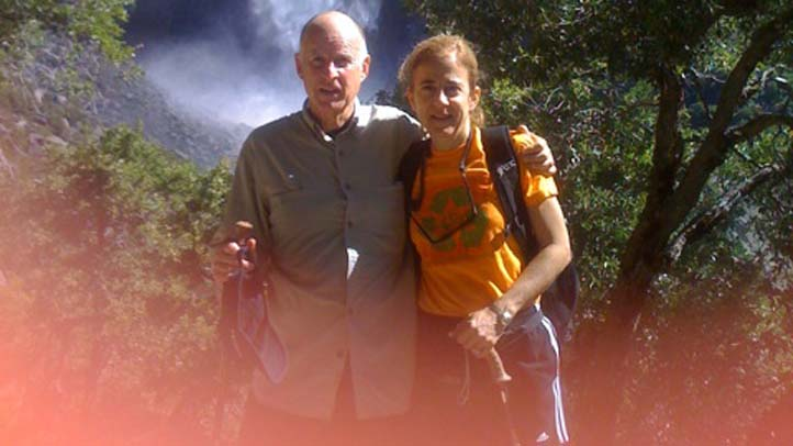 Jerry Brown and Anne Gust at Yosemite cropped