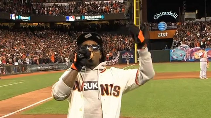 Lil_Wayne_Giants_Seventh_Inning_Stretch_Take_Me_Out_To_The_Ballgame_Video