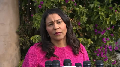 London Breed is mad that people care about her unmasked partying