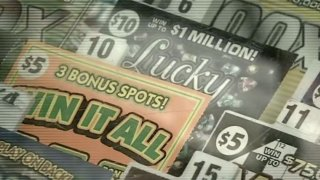Lottery scratchers