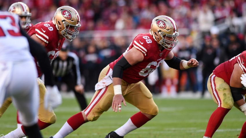 San Francisco 49ers Offensive Guard Mike Person