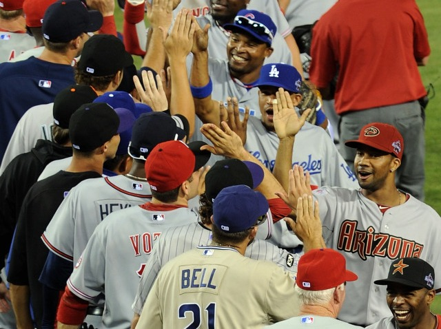 NL all star game 2010 win