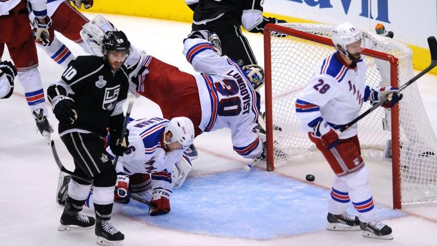 NHL 2014: Stanley Cup Finals Rangers vs Kings JUN 04