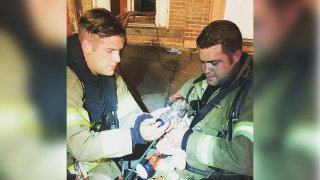 Newburgh Firefighters Puppy