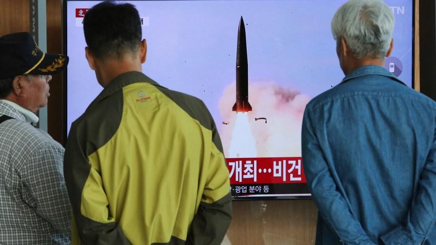 South Korea North Koreaa Projectile