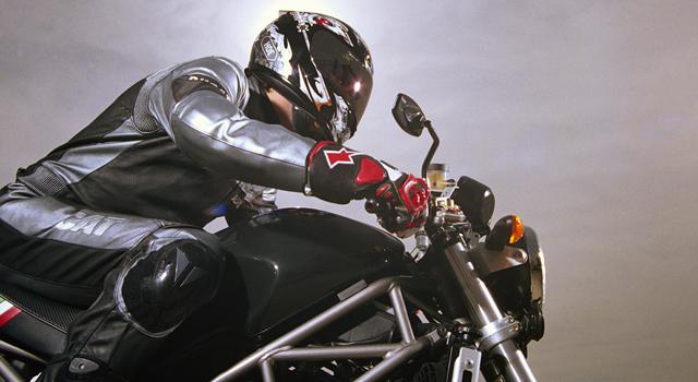 PHI motorcycle rider