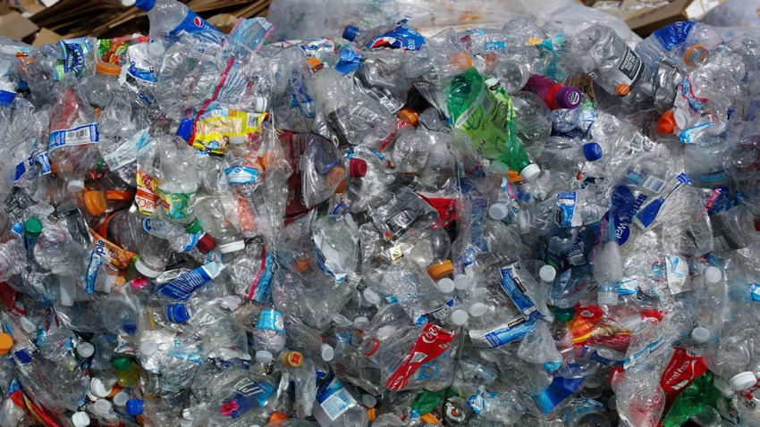 Recycled Plastic Bottles