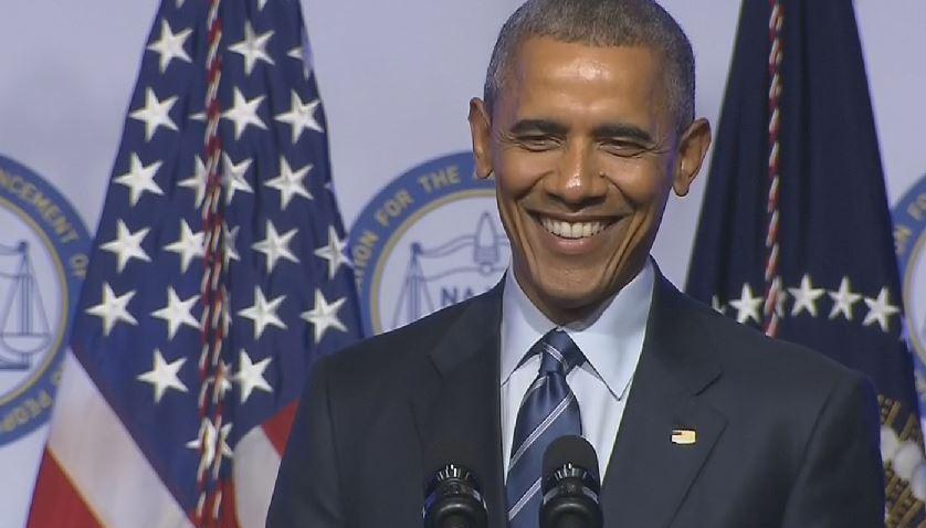 President Barack Obama NAACP