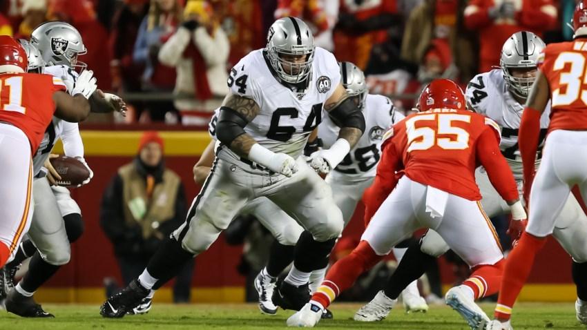 Oakland Raiders offensive guard Richie Incognito