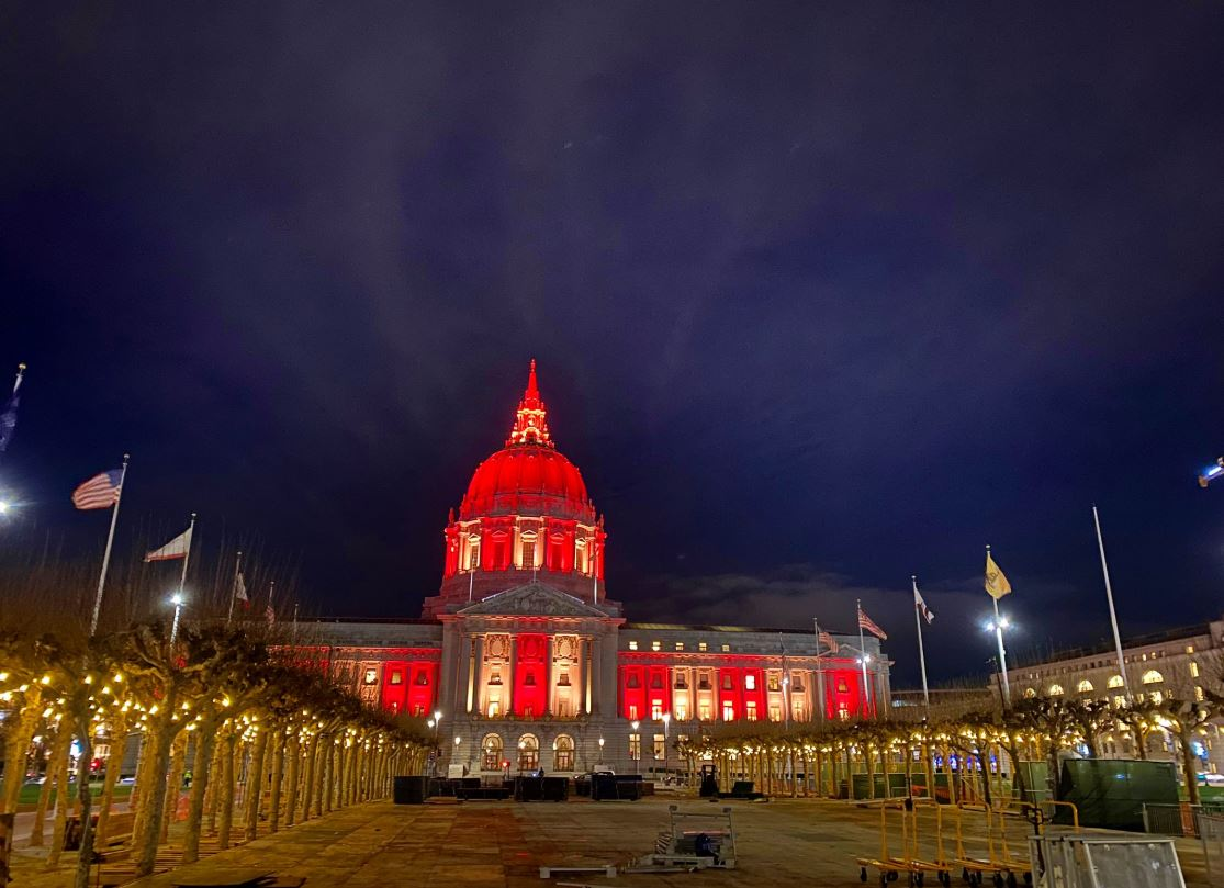 Light Up Bay Area Cities Ahead Of 49ers