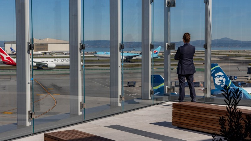 PHOTOS: SFO's New Outdoor Observation Deck
