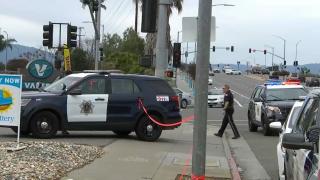 San Jose police investigate a homicide.