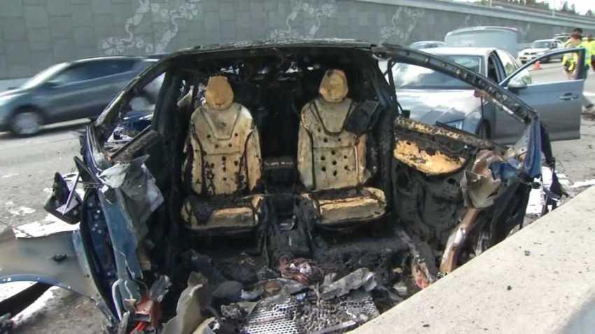 Driver Dies Following Fiery Tesla Model X Crash on U.S ...