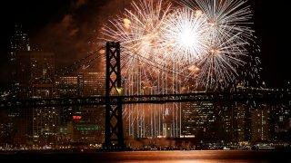 APTOPIX New Years Eve San Francisco