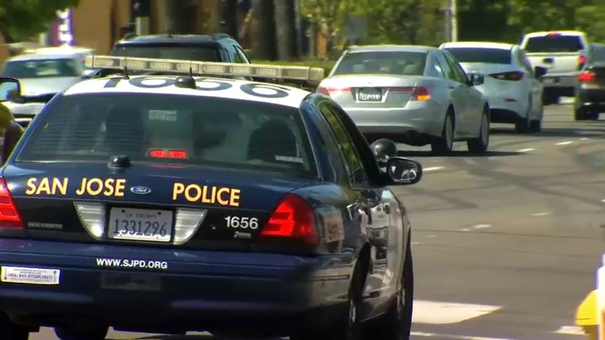 A San Jose police car.