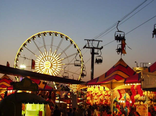 State Fair Opens - Ferris Wheel Landscape