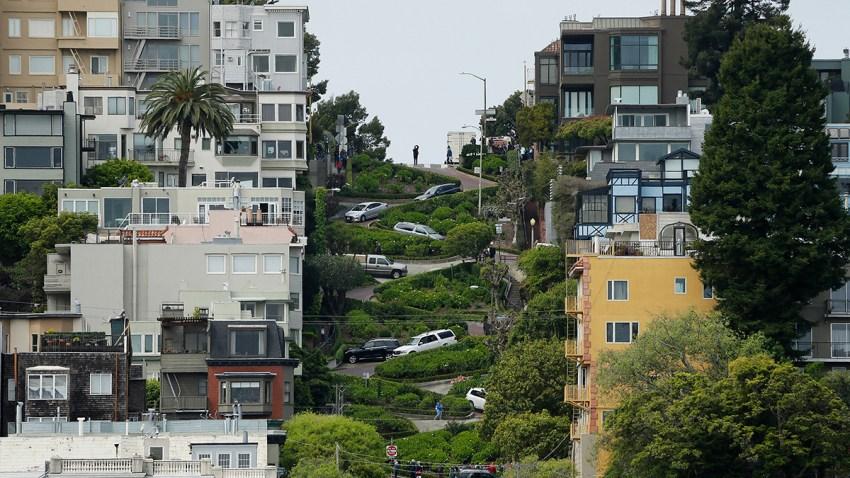 San Francisco Crooked Street