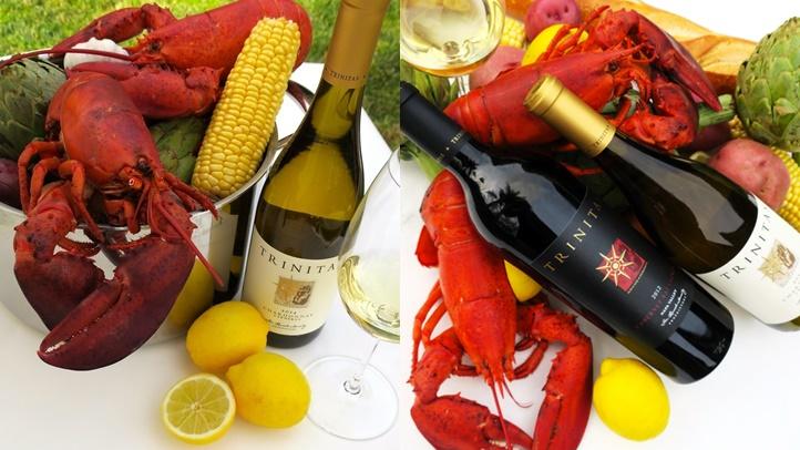 Trinitas Poster Lobster Feed-horz