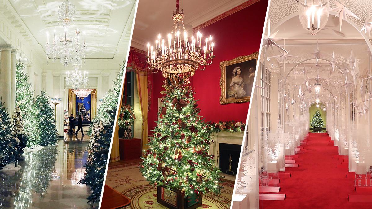 PHOTOS: White House Christmas Decorations Unveiled – NBC Bay Area