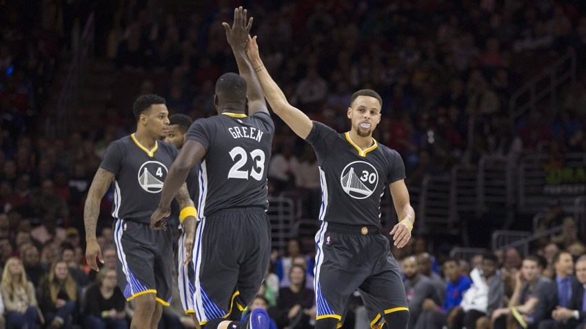 Warriors Win Sixers