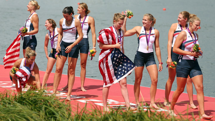 Womens 8 Flags