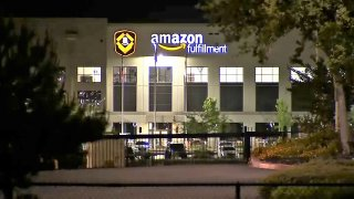 Amazon's fulfillment center in Tracy, California