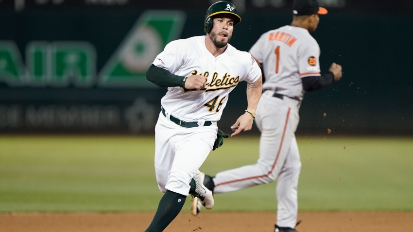 [CSNBY] A's catcher Beau Taylor far more confident in second big-league stint