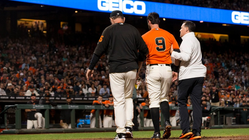 [CSNBY] Will Brandon Belt return this season for Giants after yet another concussion?