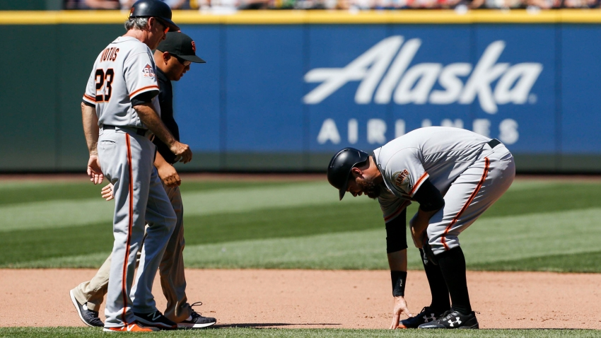 [CSNBY] One step forward, one step back for Giants: Longoria activated, Belt to DL