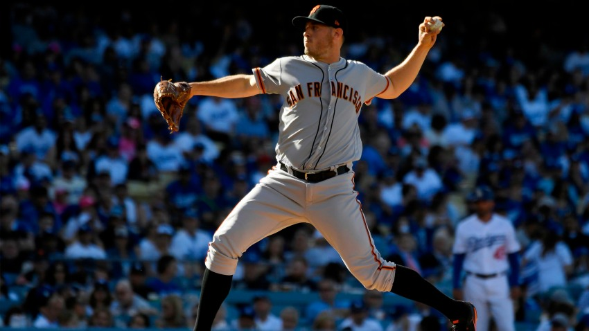[CSNBY] The unlikely lefty who stole the show in Giants-Dodgers Opening Day