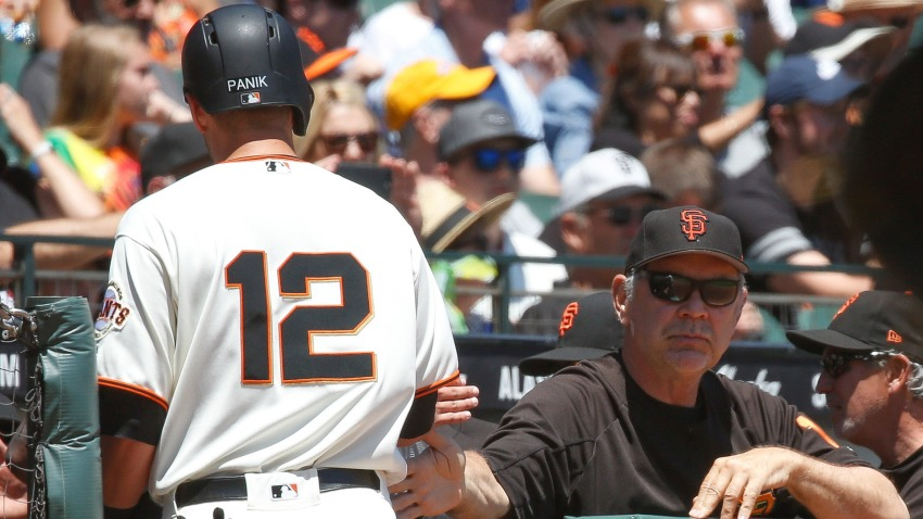 [CSNBY] Why Joe Panik DFA was so difficult for Giants manager Bruce Bochy