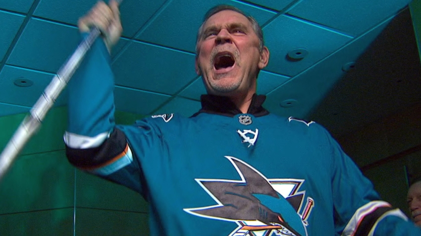[CSNBY] Giants' Bruce Bochy opens doors for Sharks ahead of Game 2 vs. Blues