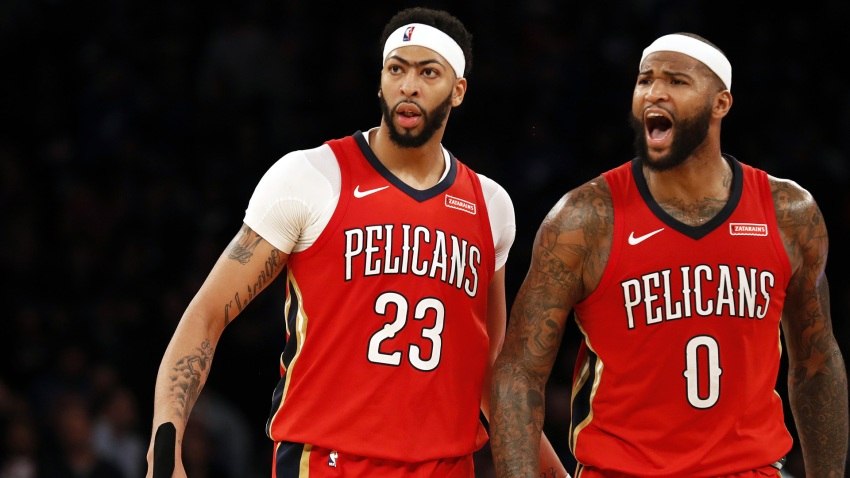 [CSNBY] DeMarcus Cousins: 'It's f---ed up' he didn't play longer with Anthony Davis