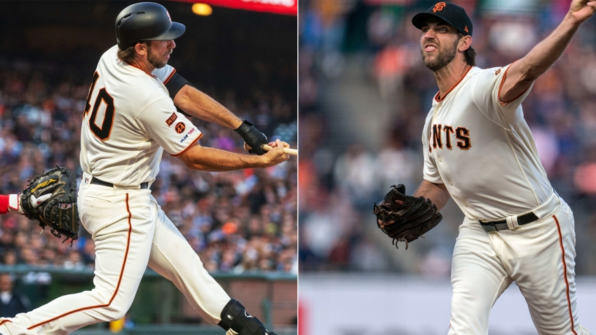 [CSNBY] Madison Bumgarner 'did it all' in Giants' skid-busting win vs. Phillies