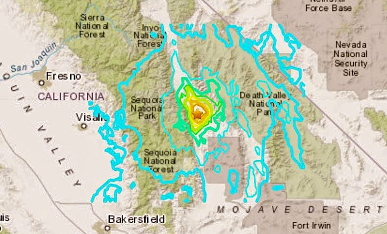 M5 8 Earthquake Strikes In Central California Nbc Bay Area