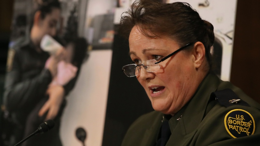 Carla Provost, chief of the U.S. Border Patrol, speaks during a Senate Judiciary Subcommittee hearing on Capitol Hill May 8, 2019 in Washington, D.C.