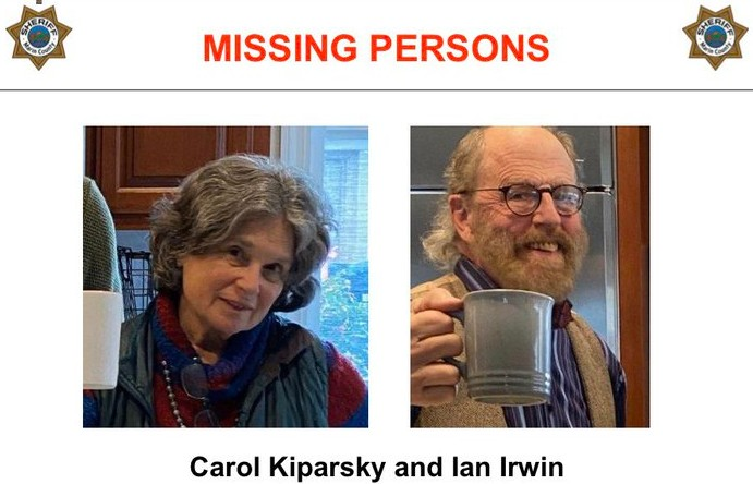 Marin County Officials Ask for Help in Search for Missing Couple