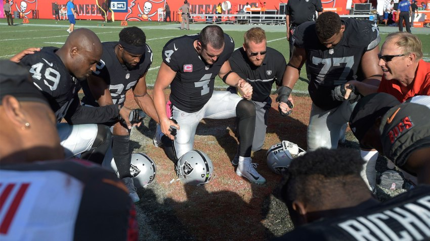 [CSNBY] Oakland police credit Raiders QB Derek Carr for helping find missing child