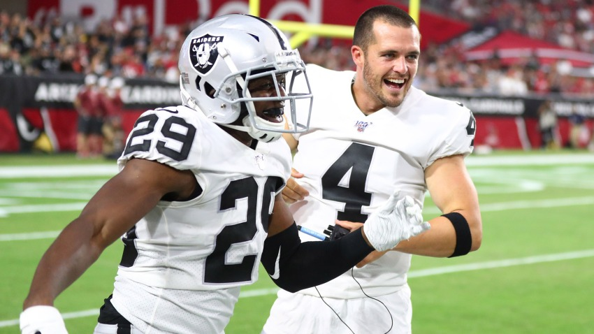 [CSNBY] Derek Carr, Raiders' frontline starters might be done playing in preseason