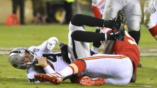 [CSNBY] Derek Carr's performance in Raiders loss not good enough in any weather