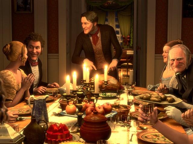 Christmas Carol feast