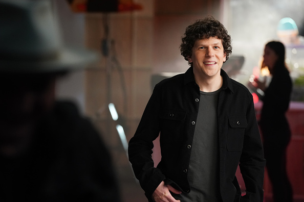 Actor Jesse Eisenberg