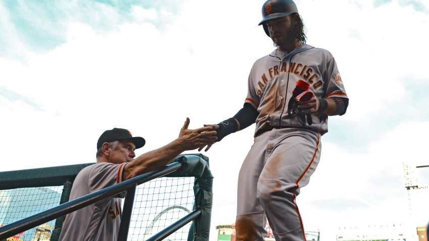 [CSNBY] Why 2014 sticks out when Crawford thinks of Bochy's Giants career