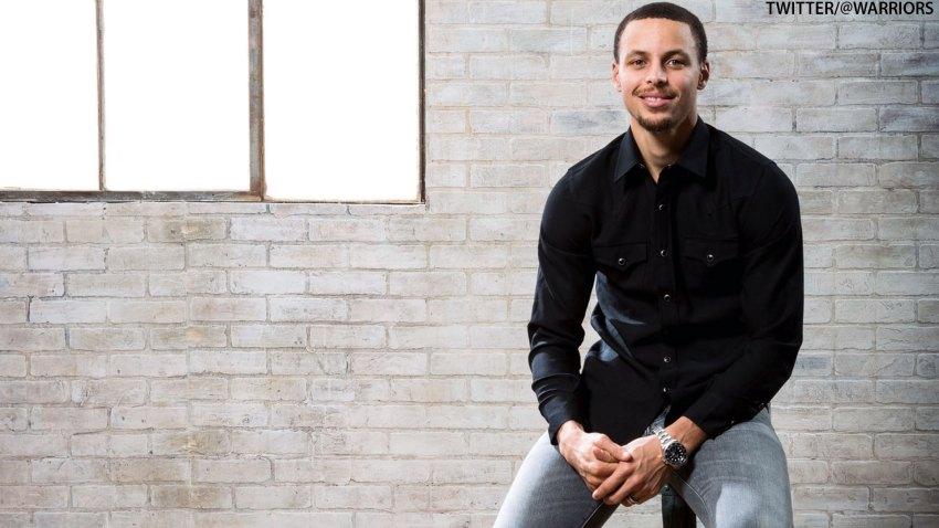 [CSNBY] Steph Curry embraces joke with 'Christian Mingle' hashtag, fire emoji